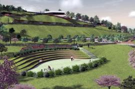 Mai mulţi bani pentru Ciuperca: Primăria Oradea licitează din nou lucrările la grădina publică (FOTO)
