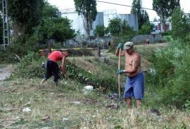 Opt deţinuţi, la curăţenie prin Oradea