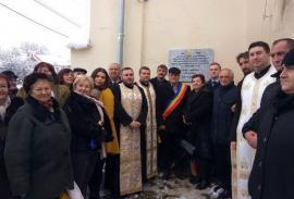 Urmaşii Marii Uniri îşi cinstesc înaintaşii: În Chioag a fost dezvelită o placă în memoria săteanului care s-a dus, în 1918, la Alba Iulia (FOTO)
