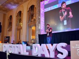 """Digital Days 2019: Mircea Bravo i-a învăţat pe orădeni cum să fie """"cool"""" pe internet (FOTO / VIDEO)"""