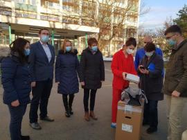 ADP Oradea sprijină Spitalul Municipal în lupta cu pandemia: donaţie în valoare de 30.000 de euro