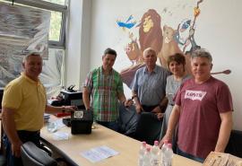 Sprijin în lupta cu Covid-19: Spitalul Municipal din Oradea a primit un videolaringoscop