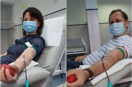 Tot mai mulţi bihoreni vindecaţi de Covid-19 donează plasmă pentru tratamentul bolnavilor în stare critică(FOTO)