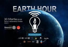 Earth Hour 2019: Sâmbătă, de la ora 20:30, Oradea stinge luminile!