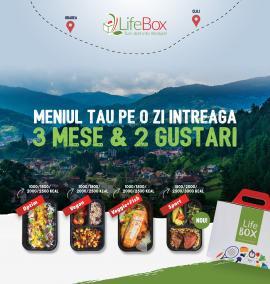 Adoptă un stil de viață sănătos cu noile meniuri LifeBox pregătite în Oradea! (FOTO)