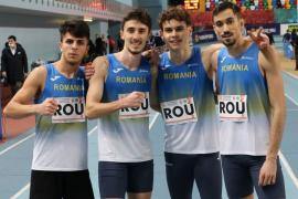 Orădeanul Mihai Dringo, vicecampion balcanic cu echipa de ştafetă a României