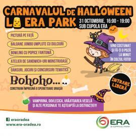Sperietoare uriaşă la ERA Park Oradea. Vine Carnavalul de Halloween!