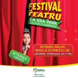 Vești bune pentru copii: Festival de teatru la ERA Park Oradea!