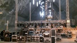 20 de tone de echipamente în subteran! Semifinala Eurovision România 2018 va avea loc la Salina Turda