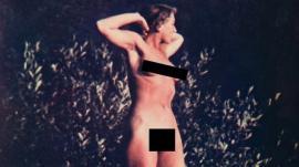 Suprinzător! Imagini cu amanta lui Hitler dezbrăcată au fost făcute publice în premieră
