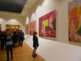 """""""Erotikonia"""", expoziția personală a lui Ioan Aurel Mureșan, a fost deschisă la Muzeul Țării Crișurilor (FOTO)"""