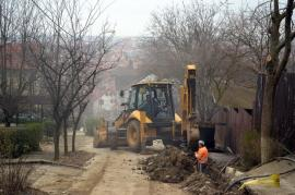Ne enervează: Lucrările făcute de mântuială pe strada Feleacului (FOTO)