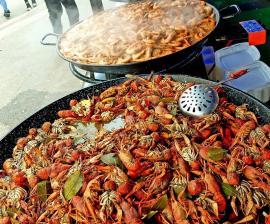 Festival cu bunătăţi mediteraneene, în Parcul Bălcescu