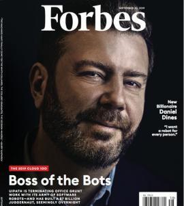 'Şeful boţilor': Daniel Dines, fondatorul UiPath, a devenit cel mai bogat român din lume
