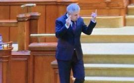 Iordache, altă nesimţire! Le-a arătat deputaţilor PNL şi USR degetul mijlociu, iar apoi a negat cu tupeu (VIDEO)