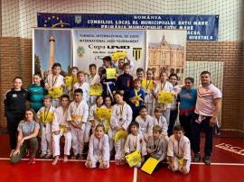 Sportivii de la CSS LPS Bihorul Oradea și-au adjudecat 18 medalii la turneul internațional de judo de la Satu Mare