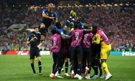Franţa este noua campioană a lumii! A bătut Croaţia cu 4-2 (FOTO)