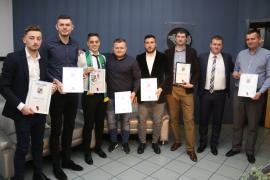 AJF şi-a premiat laureaţii în prima gală a fotbalului bihorean