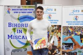 Judoka Alex George Creţ estecel mai bun sportiv al judeţului Bihor în 2019 (FOTO)