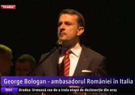 Ambasadorul României în Italia, George Bologan, a devenit cetăţean de onoare al comunei Sânmartin (VIDEO)