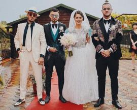 Sora lui George Puşcaş s-a măritat. Celebrul fotbalist bihorean a jucat mireasa (VIDEO)