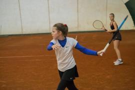 Giulia Popa, între primele opt sportive la Naţionalele Individuale de Vară la tenis - categoria 12 ani