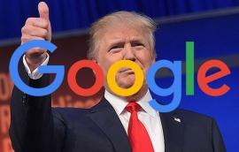 Donald Trump se plânge că Google ascunde știrile despre el