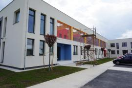 Construcția grădiniței din Parcul Industrial I din Oradea este în curs de finalizare (FOTO)