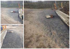 Sub pământ SRL: Hidrant îngropat în asfalt, chiar în faţa unei primării din Bihor (FOTO)