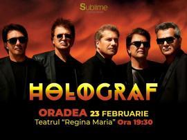 Holograf revine la Oradea la finalul lunii februarie