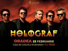 Unde ieșim săptămâna asta: Holograf concertează în Oradea