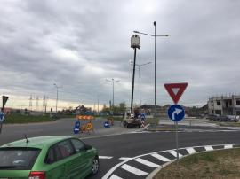 În sfârșit! Au început lucrările la sistemul de iluminat public al Centurii Oradea (FOTO)