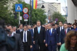Ziua mitingurilor: PSD l-a atacat pe Iohannis de la Galaţi, PNL-iştii l-au dus pe şeful statului la Iaşi