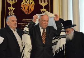 Sinagoga Ortodoxă a fost reinaugurată: După câteva decenii, Oradea are din nou prim-rabin (FOTO)