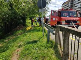 Un bărbat a fost găsit mort în Crișul Repede, în Oradea (FOTO / VIDEO)