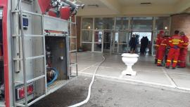 Incendiu la Hotel Muncel, în Băile Felix: Două persoane au avut nevoie de îngrijiri medicale