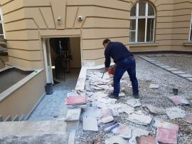 Incendiu de la anti-incendiu: Focul de la Palatul de Justiție a pornit de la… echipamentul antiincendiu!