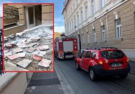Incendiu la Palatul de Justiţie din Oradea! (FOTO / VIDEO)