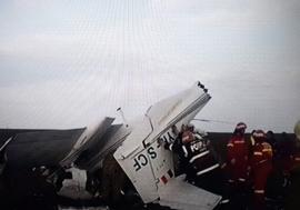 Accident aviatic: Un avion de mici dimensiuni s-a prăbușit, două persoane rănite, dintre care una în stop cardiac!