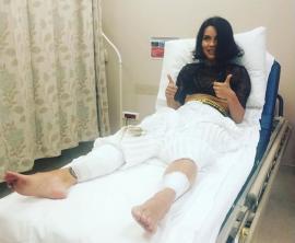 Inna a ajuns la spital, după ce scena pe care concerta în Istanbul s-a prăbuşit (VIDEO)