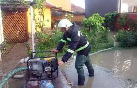 Pagube după furtună: Curţi şi beciuri inundate şi maşini distruse de copaci căzuţi peste ele, inclusiv în Oradea (FOTO / VIDEO)