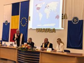 Un profesor francez, specialist în ştiinţe politice, a devenit Doctor Honoris Causa al Universităţii din Oradea
