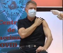 Bihorel: Zece efecte după vaccinarea președintelui Klaus Iohannis