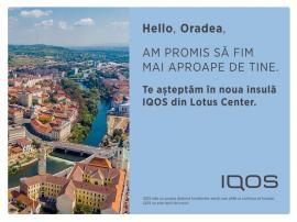 Un nou IQOS Lounge îşi aşteaptă prietenii în Lotus Mall, din 13 august