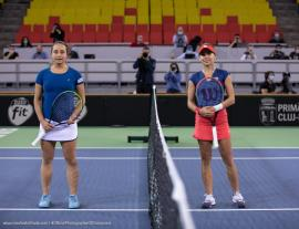 Bihoreanca Irina Bara, debut cu stângul în duelul României cu Italia, de la Billie Jean King Cup