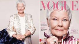 Revista Vogue a pus-o pe actriţa Judi Dench, 85 de ani, pe copertă (VIDEO)