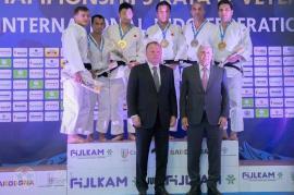 Orădenii Iulian Surlă şi Aurelian Fleisz, vicecampioni mondiali la Nage No Kata!