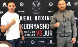 Alexandru Jur va boxa sâmbătă, la Moscova, în compania rusului Dmitri Kudryashov