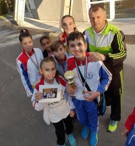 Sportivii de la CS Crişan şi-au adjudecat şase medalii la Cupa Avas din Ungaria
