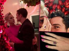 Katy Perry și Orlando Bloom s-au logodit de Valentine's Day!